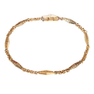 Georgian Gold Necklace-0