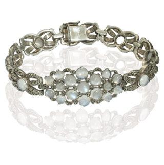 ***SOLD*** Outstanding... Original Art Deco Moonstone bracelet-0