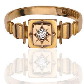 ***SOLD*** Victorian Diamond ring-0