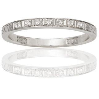 ***SOLD*** Original 1920s Diamond Wedding band-0