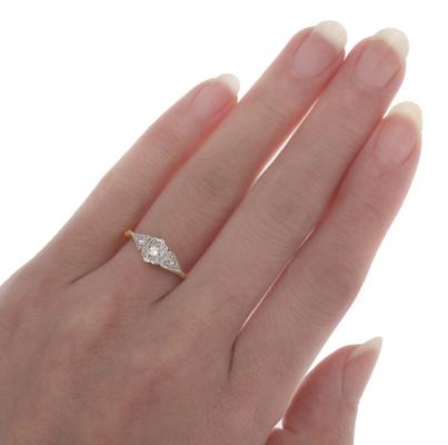 ***SOLD*** Original Art Deco Diamond ring-1611