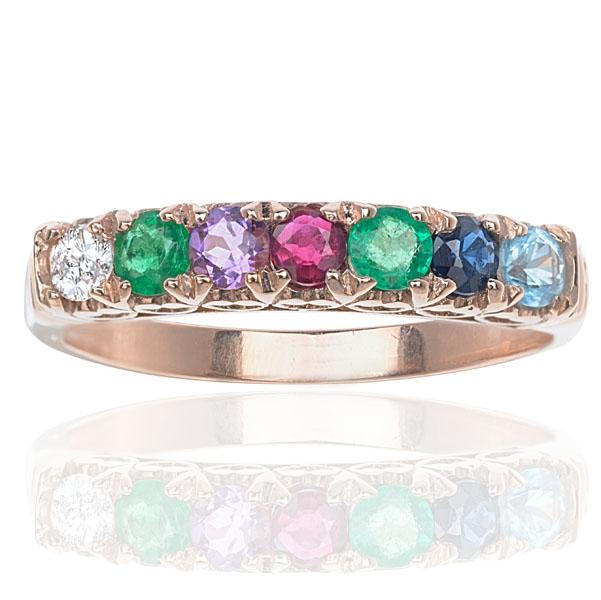 ***SOLD*** Timeless... Rose Gold DEAREST ring-0