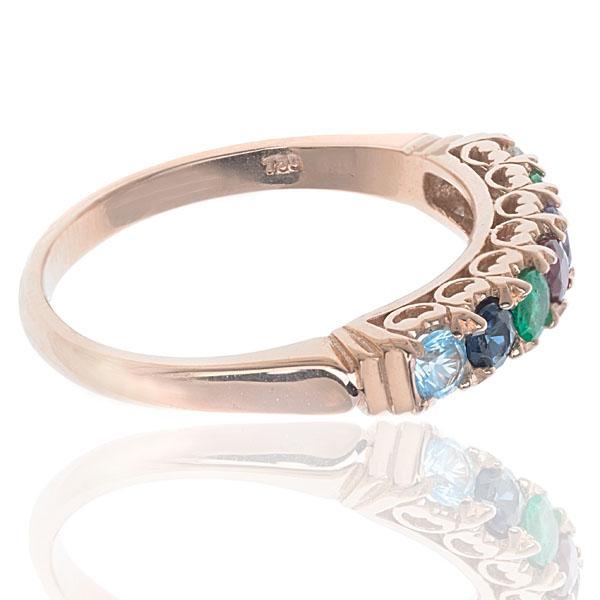 ***SOLD*** Timeless... Rose Gold DEAREST ring-2619