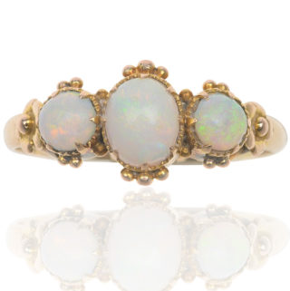 ***SOLD*** Antique Opal ring-0