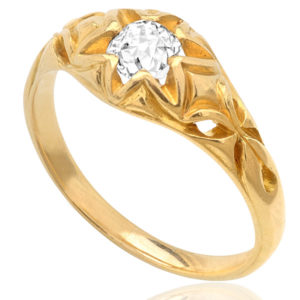 Star of the Show... Victorian Diamond ring -3093