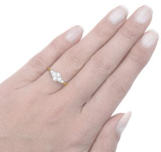 ***SOLD*** Cloud 9... Original Art Deco Diamond ring -3103