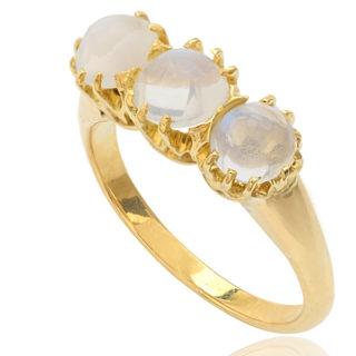 Antique Moonstone ring -0