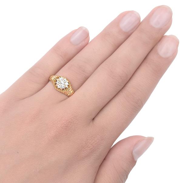 Divine... Original Antique Diamond ring -3321