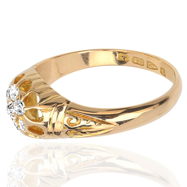 Divine... Original Antique Diamond ring -3322