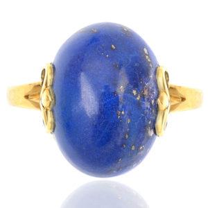 Vintage Lapis Lazuli ring-0