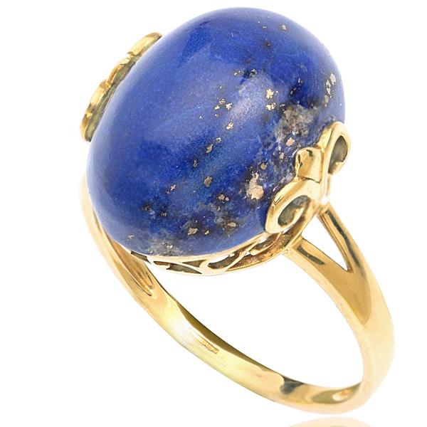 vintage lapis lazuli ring helen badge jewellery