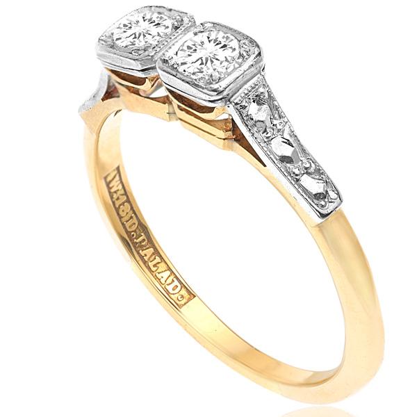 I DO... Original 1920s Diamond Engagement ring-3410
