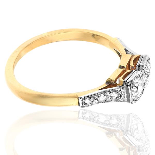 I DO... Original 1920s Diamond Engagement ring-3412