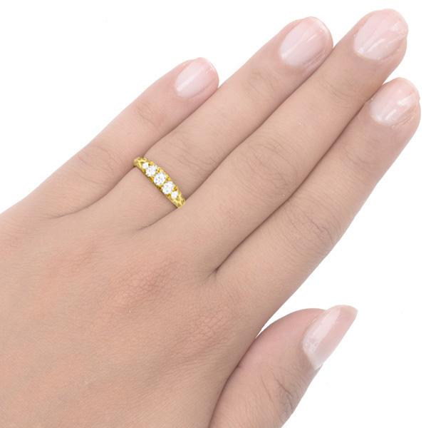 Antique 5 stone Diamond ring -3444