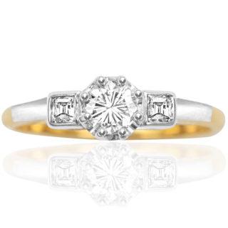 Vintage Diamond Engagement ring -3484