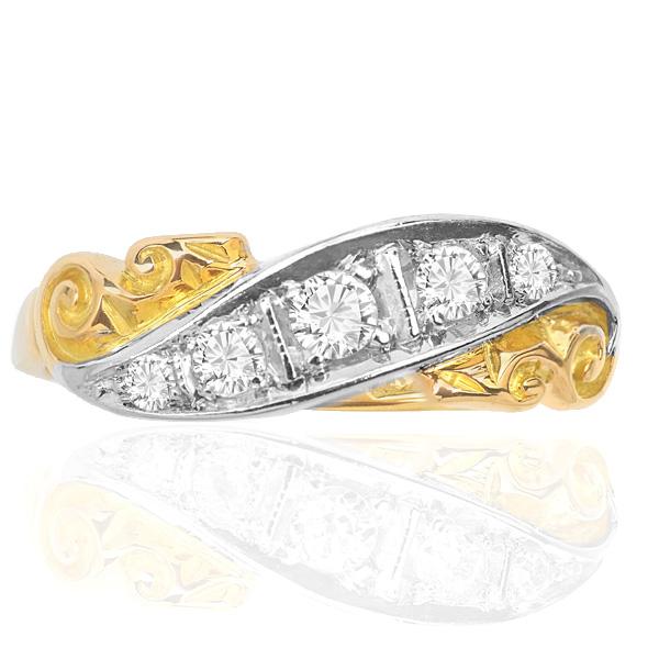 Victorain Diamond ring -0