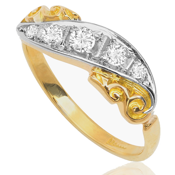 Victorain Diamond ring -3477
