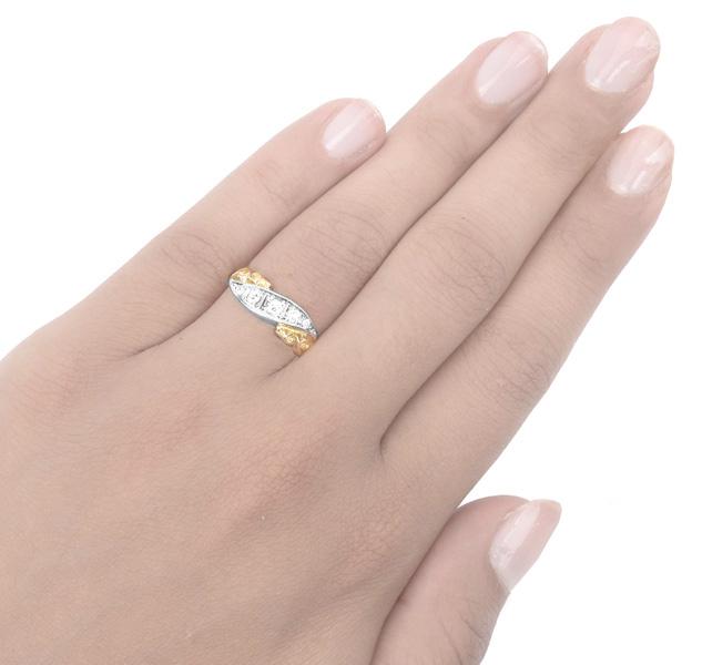 Victorain Diamond ring -3474