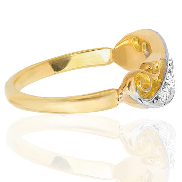 Victorain Diamond ring -3478