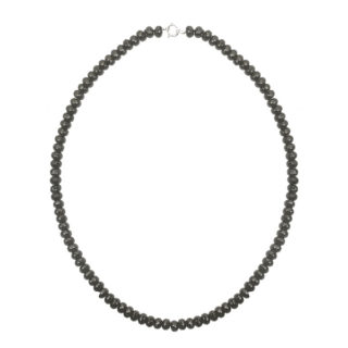 Striking... Long Onyx Necklace-3539