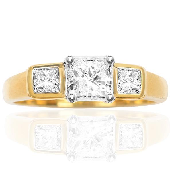 Stylish... Handmade Diamond Engagement ring-0