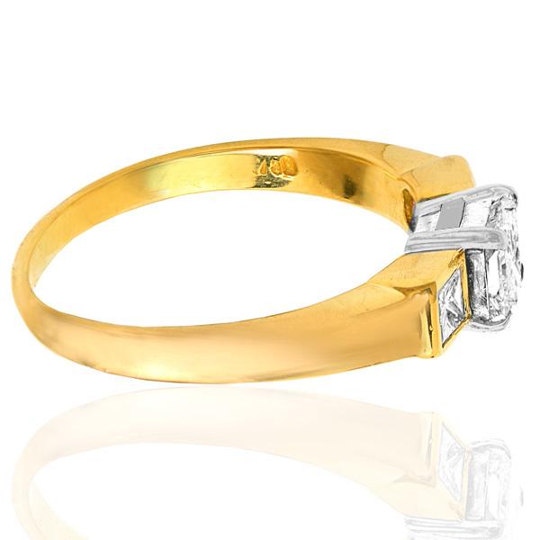 Stylish... Handmade Diamond Engagement ring-3564