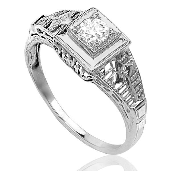 Engagement Rings York: New York... Original 1920s Diamond Engagement Ring