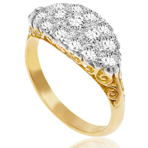 Superb... Antique Diamond ring -0