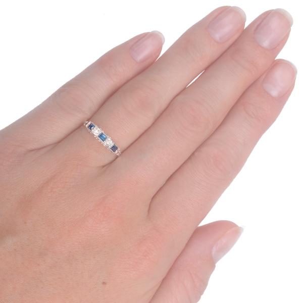 Sapphire and Diamond hand shot