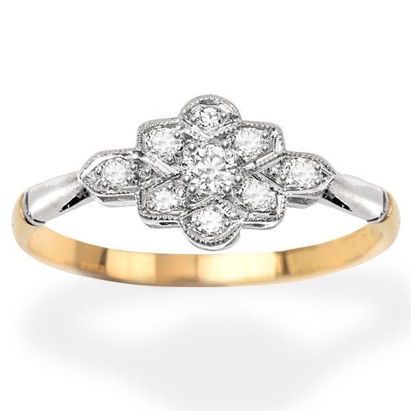 Diamondclusterring